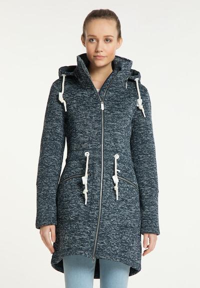 ICEBOUND Mantel in nachtblau / weiß, Modelansicht
