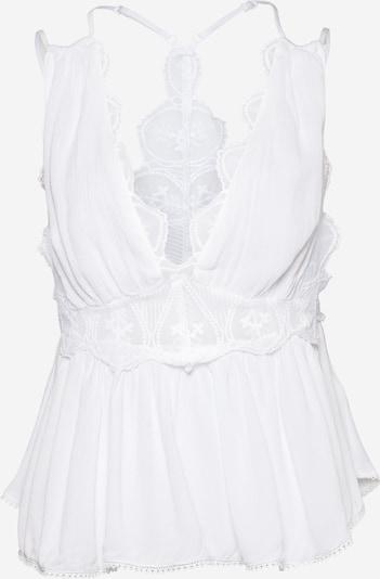 Top 'ODESSA' Free People pe alb, Vizualizare produs