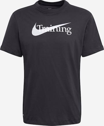 melns NIKE Sporta krekls