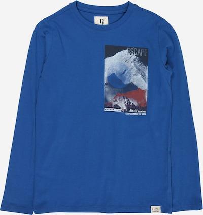 Maglietta GARCIA di colore blu, Visualizzazione prodotti