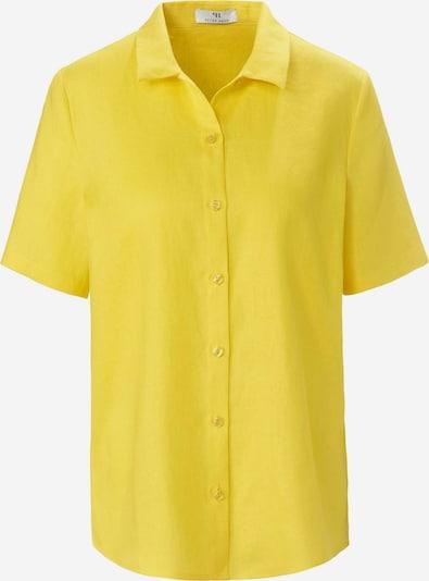 Peter Hahn Kurzarmbluse in gelb, Produktansicht