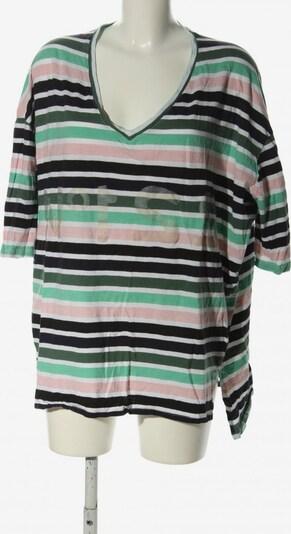 5Preview Oversized Shirt in M in grün / pink / schwarz, Produktansicht