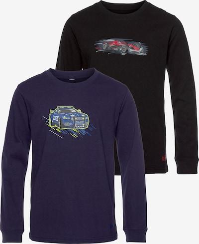 SCOUT Shirt in marine / grün / rot, Produktansicht