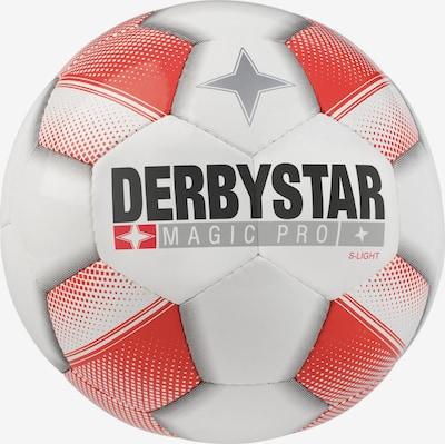 DERBYSTAR Ball in rot / weiß, Produktansicht