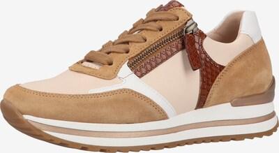GABOR Sneaker in beige / braun / weiß, Produktansicht