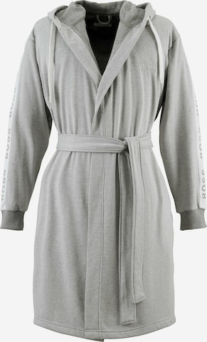 BOSS Home Long Bathrobe 'BOSS_SENS' in Grey