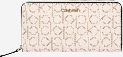 Calvin Klein Wallet in cream / light beige / black, Item view