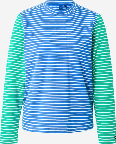 Résumé Shirt 'Gertie' in Blue / Green / White, Item view