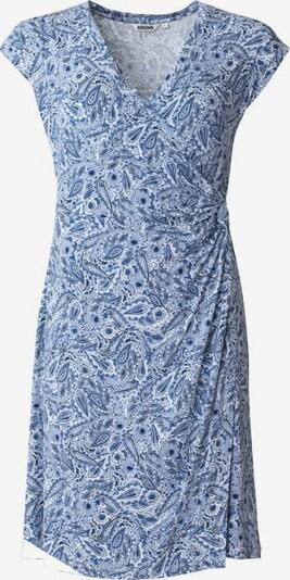 Indiska Šaty 'FERN' - modrá / námořnická modř / bílá, Produkt