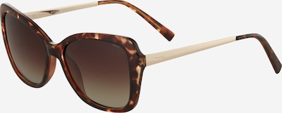 INVU Sonnenbrille 'B2006B' in braun / gold, Produktansicht