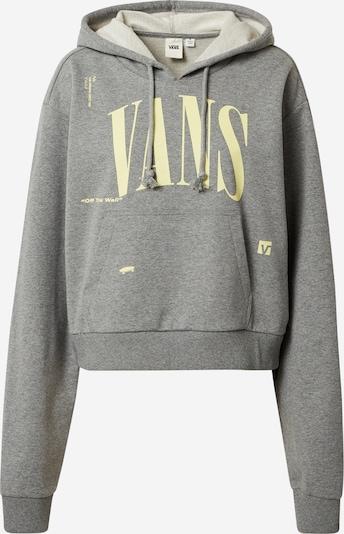 VANS Sweatshirt 'KAYE' in de kleur Lichtgeel / Grijs gemêleerd, Productweergave