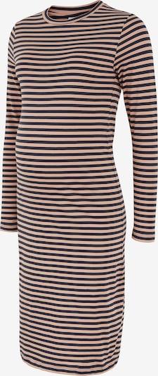 MAMALICIOUS Kleid in beige / schwarz, Produktansicht