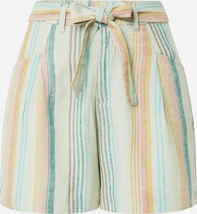 Pantaloni 'LEIA-OHIO' ONLY pe galben / verde petrol / verde mentă / roz pal, Vizualizare produs