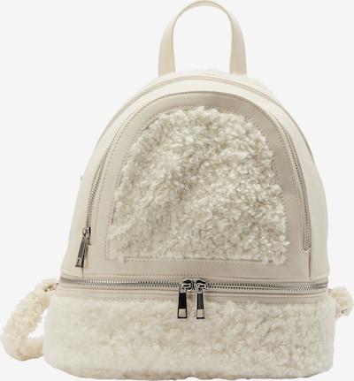 taddy Rucksack in weiß, Produktansicht