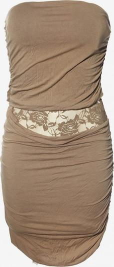 Voyelles schulterfreies Kleid in L in braun, Produktansicht