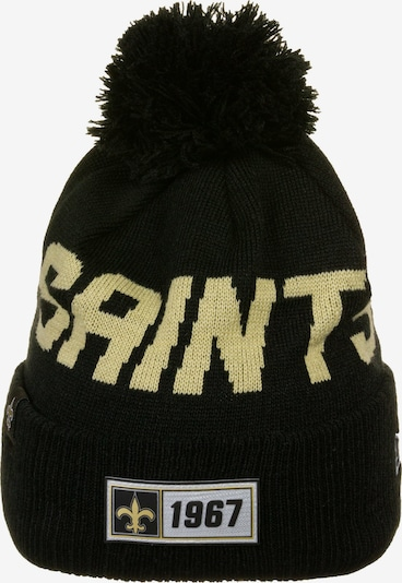 NEW ERA New Orleans Saints Official NFL Bommelmütze in schwarz, Produktansicht