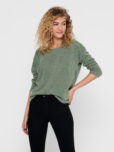 ONLY Sweater in jade, View model