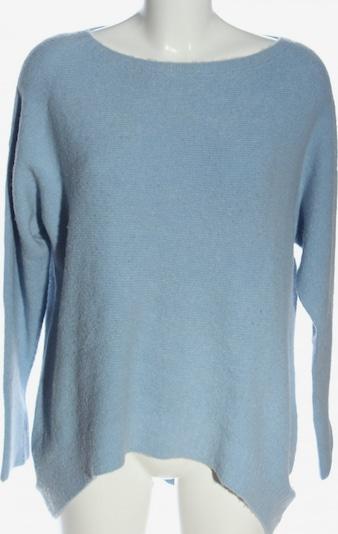 lykkelig Oversized Pullover in S in blau, Produktansicht