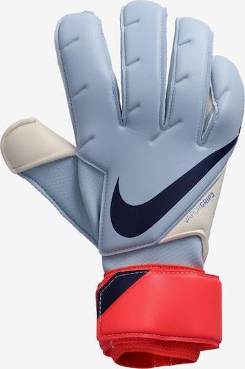 NIKE Handschuh in hellblau / neonrot, Produktansicht