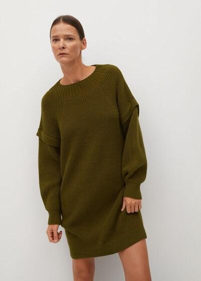 MANGO Kleid 'Regy' in oliv, Modelansicht