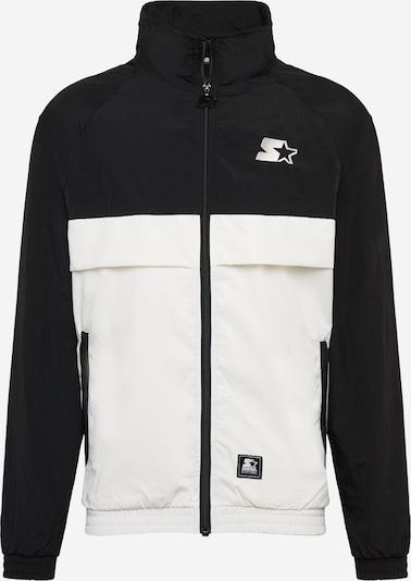 Starter Black Label Tussenjas 'Starter' in de kleur Zwart / Wit, Productweergave