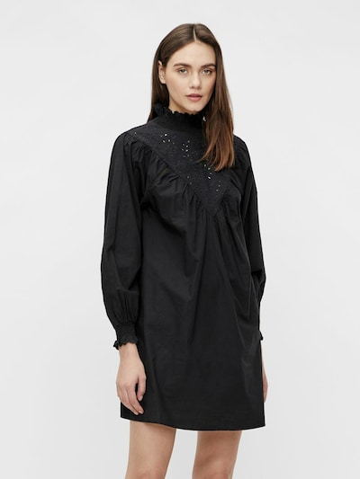 OBJECT Jurk 'IRIS' in de kleur Zwart, Modelweergave