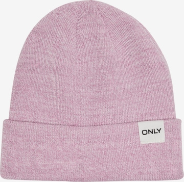 ONLY Beanie 'Spring' in Purple