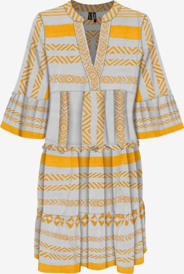 VERO MODA Tunika in gelb / offwhite, Produktansicht