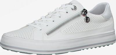 Sneaker low s.Oliver pe alb, Vizualizare produs