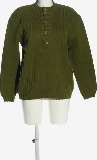 UNBEKANNT Strickpullover in 5XL in khaki, Produktansicht