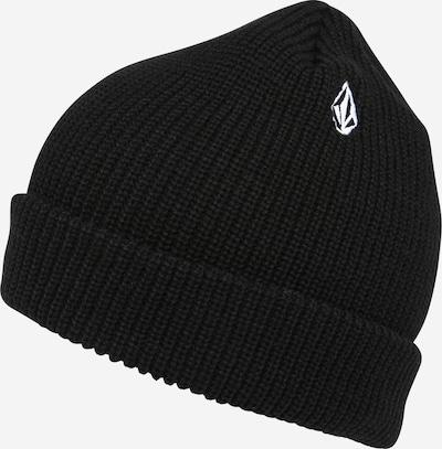 Volcom Mütze 'FULL STONE' in schwarz / weiß, Produktansicht