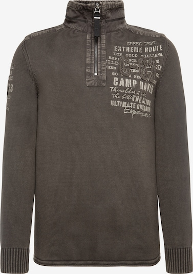 CAMP DAVID Pullover in braun, Produktansicht