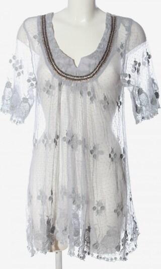 VIRMANI Transparenz-Bluse in L in hellgrau / weiß, Produktansicht