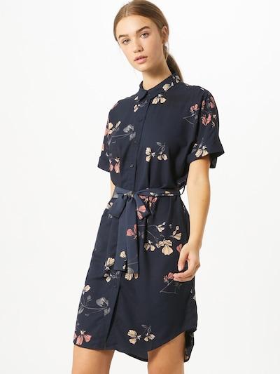 VERO MODA Košilové šaty - modrá / pink, Model/ka