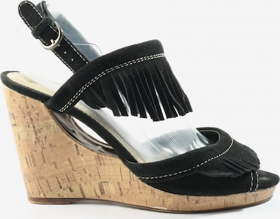 BULLBOXER Plateau-Sandalen in 38 in schwarz, Produktansicht