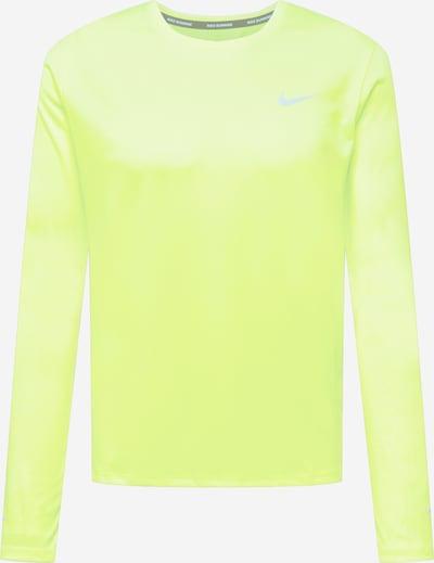 NIKE Sportshirt in neongelb / grau, Produktansicht
