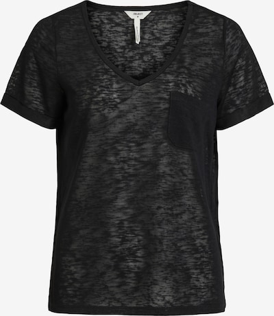 OBJECT T-Shirt 'OBJTESSI' in schwarz, Produktansicht
