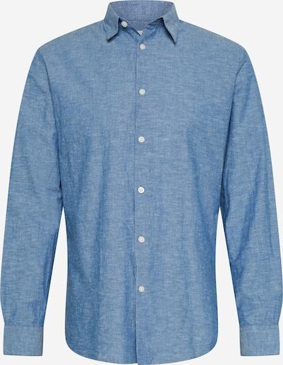 SELECTED HOMME Hemd 'SLHREGNEW' in blaumeliert, Produktansicht