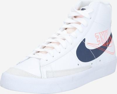 Nike Sportswear Sneaker 'BLAZER' in navy / grenadine / weiß, Produktansicht