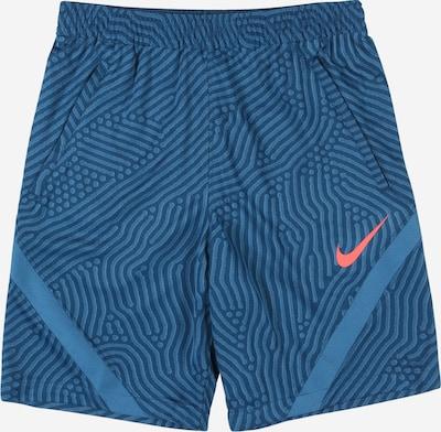 NIKE Sporthose 'Strike' in blau / rauchblau, Produktansicht