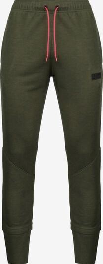 UNDER ARMOUR Pantalon de sport 'Warm-Up SC30' en olive / noir, Vue avec produit