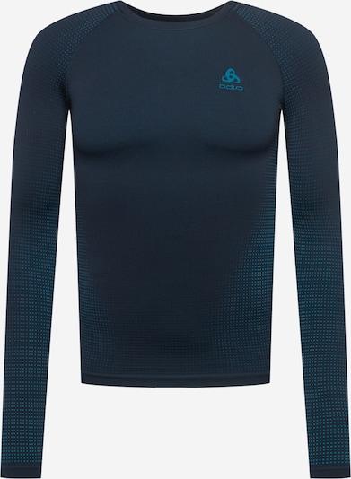 ODLO Performance Shirt in Navy / Cyan blue, Item view