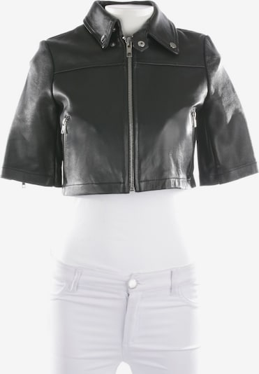Maje Lederjacke / Ledermantel in XS in schwarz, Produktansicht
