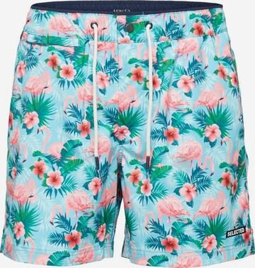 Shorts de bain SELECTED HOMME en bleu