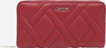 Calvin Klein Geldbörse in Rot