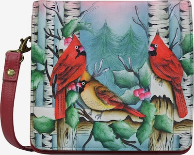 ANUSCHKA Handbag 'SNOWY CARDINAL' in Mixed colors, Item view