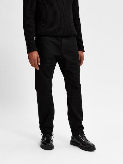 SELECTED HOMME Jeans 'Aldo' in schwarz, Modelansicht
