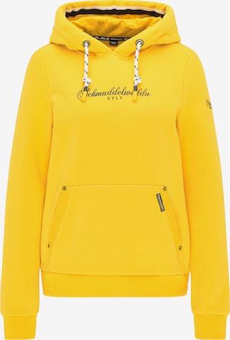 Schmuddelwedda Sweatshirt 'Sylt' in Yellow