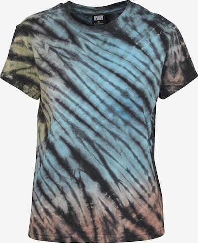 Urban Classics Damen 'Tie Dye Boyfriend' in blau / gelb / grau / lila / orange / rosa / schwarz, Produktansicht