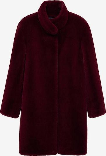 MANGO Prehoden plašč 'Chillyn' | vinsko rdeča barva, Prikaz izdelka
